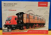 Fleischmann 2017 New Products Catalog For Ho And N Scale - Tradition And Passion I