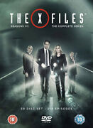 The X-files - Complete Series New Pal 59-dvd Box Set Gillian Anderson