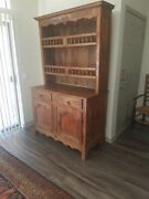 Beautiful - Antique Cabinet Display Hutch France 1840-1860 - Excellent Condition