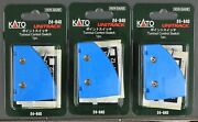 Lot Of 3 - N Scale - Kato Unitrack 24-840 Turnout Control Switch - Lot Of 3