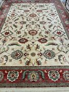 10and0392 X 14and0391 Karastan Agra Design Oriental Rug - Full Pile - Made In Usa