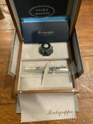 Montegrappa Extra Argento Fountain Pen 6 Of 1912 Mint