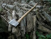 A Superb Hand Forged Maine Single Bit Axe With A Folded High Carbon Tip. Ex+++