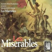 Free Us Ship. On Any 3+ Cds Used,very Good Cd Les Miserables - Highlights
