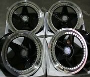 17 Noir Dr-f5 Roues Alliage Pour Rover 25 45 200 400 Streetwise Mg3 4x100