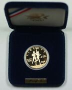 1984-s 10 Gold Eagle Proof Olympic Commemorative Coin No Outer Box Or Coa