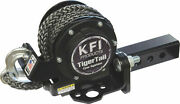 Kfi Tiger Tail 12' Tow Rope System Atv/utv 2 Receiver Hitch Retractable 101100