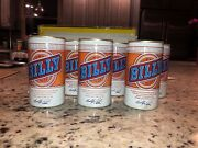 6- Vtg. Billy Beer Aluminum Cans The West End Brewing Co. Utica N.y.- Empty