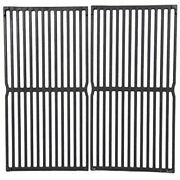 15 Inch Grill Grate Replacement 2pcs Durable Rust-resistant Cast Iron Safe