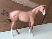 Peter Stone Weanling Quart Horse Filly Mold Factory Custom Shaded Dun Of Foal