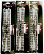 Lots Of 3 Kato 20-210 Unitrsck 310mm Double Crossover Turnout Wx310 N Scale