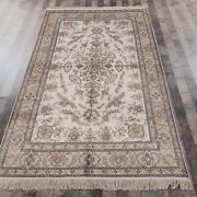Yilong 5and039x8and039 Handmade Silk Vintage Carpet Living Room Indoor Oriental Rug 059m