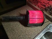 Vintage Maritime Red Port Side Signal Light Western Railroad Supply Co Train