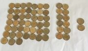 Lot Of 59 Pand D Sacagawea Native American One Dollar Coins