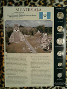 Coins From Around The World Guatemala 6 Coin Set 2000-2007 Bu Unc 1 Quetzal 2006