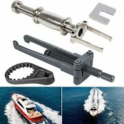 Fuel Filter Water Separator Wrench+upperlower Bearing Carrier Puller For Yamaha