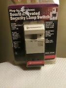Intermatic Plug-in Electronic Sound Activated Security Lamp Switch 1988 Light