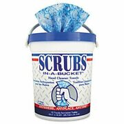 Scrubsandreg In-a-bucket Hand Cleaner Towels 6 Buckets Itw42272ct