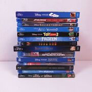 Disney Blu Ray Lot Of 14 Marvel Star Wars Up Frozen Brave Fox And The Hound
