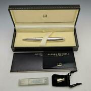 Dunhill Torpedo 925 Sterling Silver Ballpoint Pen With Letter Opener Used Japan