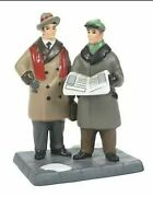Dept 56 Breaking News Christmas In The City 6007589 New 2021 In Stock Woolworth