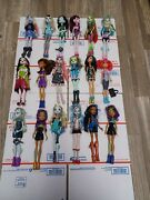 Monster High Doll Large Lot Of 18 Draculaura Lagoona Frankie Clawdeen Ghoulia
