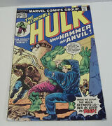 The Incredible Hulk 182 Marvel Comics 1974 3rd Wolverine 1st Hammer And Anvil