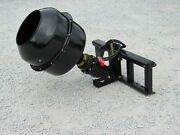 Auger Torque 3300-30 Hex Auger Drive With Cement Mixing Bowl Fits Skid Steer