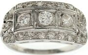 Platinum 0.65cts Diamonds Ring. Stored In A Safe. Great Investment.andnbsp