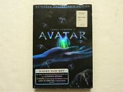 James Cameron's Avatar Extended Collector's Edition Dvd, 2010, 3-disc New
