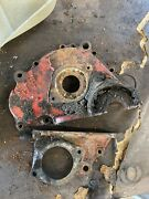 Ford 8n Tractor Front Distributor Engine And Governor Covers