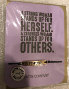Twoand039s Company Card And Fashion Bracelet Andldquofearlessandrdquo With Silk String