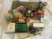 Vintage 1880-1965 Lot Mix Toys Photos German Playing Cards Antique Lot 14