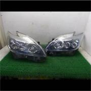 Jdm Toyota Prius Zvw30 Led Projector Headlights Lamps Oem Used