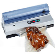 Commercial Vacuum Sealer Machine Seal Meal Food Saver System With Free Bags Roll