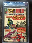 Tales To Astonish 61 Cgc Nm+ 9.6 Ow-w Kirby Cover Suscha News Collection