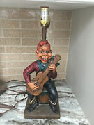 Howdy Doody Esco Like Statue Lamp From 1954 Works