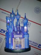 Cinderella Light-up Figure Castle Collection 1/10 And Journal Book Disney Store