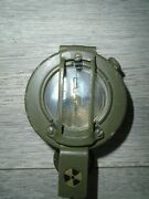 Stanley London G150 Brass Marching Prismatic Compass British Army Issue