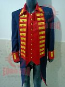 Revolutionary War American Military Officer Frock Coat With Waistcoat Repro
