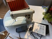 Husqvarna Viking 6030 Sewing Machine With Hard Case All In Very Good Condition