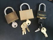 Walsco And Master Key And Lock Sets Working