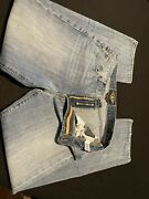 Mens Lucky Brand Jeans 36x34 Relaxed Fit