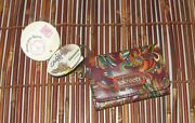 Sakroots Keychain Id Wallet Card Holder Coin Change Purse New
