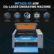 Omtech 60w 16x24 Co2 Laser Engraver Engraving Machine Ruida With Rotary Axis C