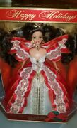 ☆☆rare☆☆ New 97 Holiday Barbie 10th Anniversary Special Edition ☆eyecolor Error☆