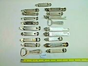 Lot Of 19 Beer Can / Bottle Openers Pabst Ballantine Knickerbocker And Others