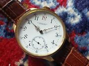 Longines Vintage Antique 1905s Manual Winding Analog White Watch Made In Swiss