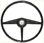 Black Driver Quality Steering Wheel 1953-55 Ford Pickup Truck