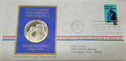 1971 Protect Our Future Prevent Drug Abuse Silver Proof Medal With Stamp